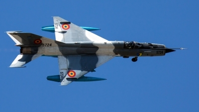 Photo ID 103974 by Aleksey Hinkov. Romania Air Force Mikoyan Gurevich MiG 21MF 75 Lancer C, 5724