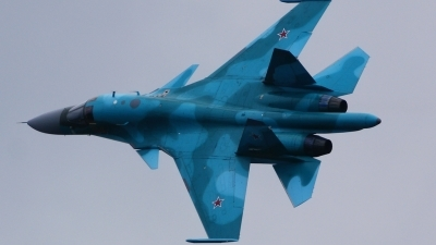 Photo ID 103936 by Lukas Kinneswenger. Russia Air Force Sukhoi Su 34 Fullback, RF 92252