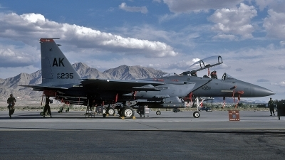 Photo ID 104239 by David F. Brown. USA Air Force McDonnell Douglas F 15E Strike Eagle, 90 0235