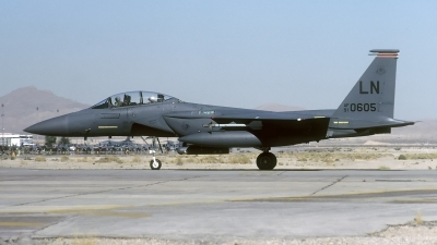 Photo ID 104246 by David F. Brown. USA Air Force McDonnell Douglas F 15E Strike Eagle, 91 0605