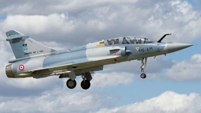 Photo ID 104367 by Karl-Heinz Krebs. France Air Force Dassault Mirage 2000B, 525