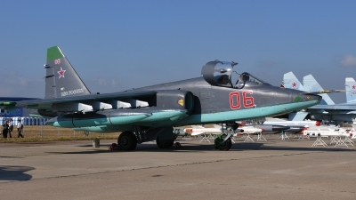 Photo ID 104399 by Peter Terlouw. Russia Air Force Sukhoi Su 25K,