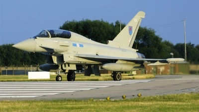 Photo ID 105024 by Joop de Groot. UK Air Force Eurofighter EF 2000 Typhoon T3, ZK381