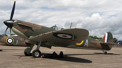 Photo ID 105819 by Niels Roman / VORTEX-images. Private Private Supermarine 300 Spitfire Mk1A, G CGUK
