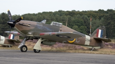 Photo ID 104574 by Niels Roman / VORTEX-images. Private Historic Aircraft Collection Hawker Hurricane XII, G HURI