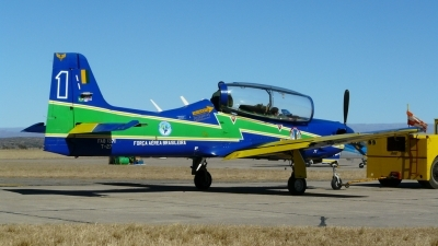 Photo ID 104741 by Martin Kubo. Brazil Air Force Embraer T 27 Tucano, FAB1371