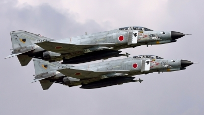Photo ID 13497 by Darren Mottram. Japan Air Force McDonnell Douglas F 4EJ Phantom II, 07 8436