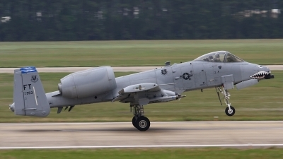 Photo ID 104860 by Paul Newbold. USA Air Force Fairchild A 10C Thunderbolt II, 81 0953