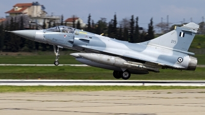 Photo ID 104972 by Nikos A. Ziros. Greece Air Force Dassault Mirage 2000EG, 215