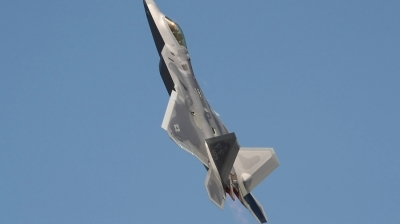 Photo ID 104905 by Paul Newbold. USA Air Force Lockheed Martin F 22A Raptor, 09 4179