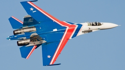 Photo ID 105577 by Alex van Noye. Russia Air Force Sukhoi Su 27SM3,