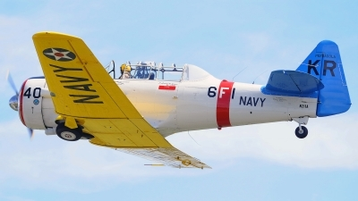 Photo ID 105107 by W.A.Kazior. Private Private North American SNJ 6 Texan, N211A