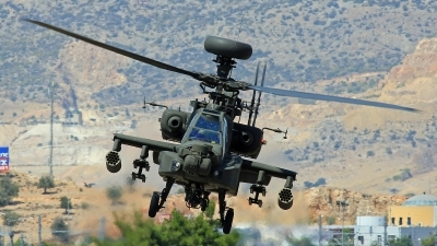 Photo ID 105337 by XRISTINA PATSI. Greece Army Boeing AH 64DHA Apache Longbow, ES1029