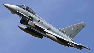 Photo ID 105152 by Niels Roman / VORTEX-images. Germany Air Force Eurofighter EF 2000 Typhoon S, 30 75