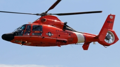 Photo ID 105676 by W.A.Kazior. USA Coast Guard Aerospatiale MH 65D Dolphin SA 366G 1, 6587