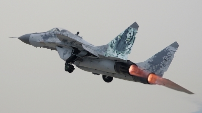 Photo ID 105413 by Michal Hlavac. Slovakia Air Force Mikoyan Gurevich MiG 29AS, 0921