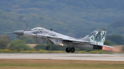 Photo ID 105495 by Michal Hlavac. Slovakia Air Force Mikoyan Gurevich MiG 29AS, 0921