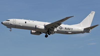 Photo ID 105581 by Aaron C. Rhodes. USA Navy Boeing P 8A Poseidon 737 800ERX, 168430