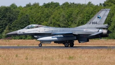 Photo ID 105803 by Rainer Mueller. Netherlands Air Force General Dynamics F 16AM Fighting Falcon, J 866