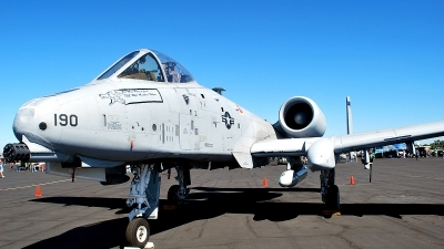 Photo ID 106365 by Ray Orgunwall. USA Air Force Fairchild A 10C Thunderbolt II, 79 0190