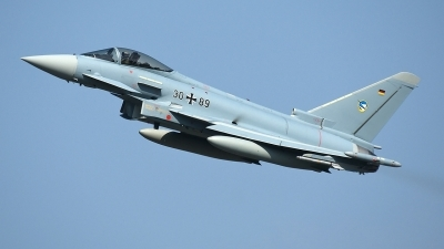 Photo ID 105912 by Jörg Pfeifer. Germany Air Force Eurofighter EF 2000 Typhoon S, 30 89