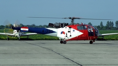 Photo ID 106020 by Lieuwe Hofstra. Netherlands Air Force Aerospatiale SA 316B Alouette III, A 390