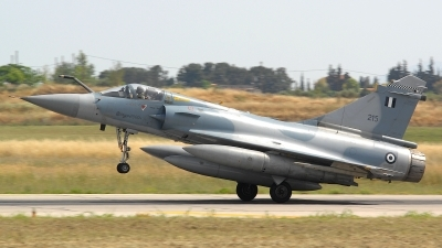Photo ID 106731 by Peter Boschert. Greece Air Force Dassault Mirage 2000EG, 215