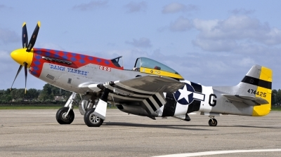 Photo ID 106219 by Bart Hoekstra. Private Private North American P 51D Mustang, PH PSI