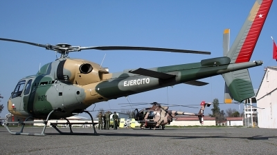 Photo ID 106795 by Carlos Ay. Chile Army Aerospatiale HB 355N Esquilo II, H 271