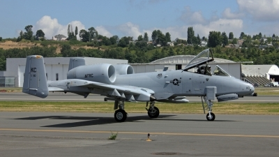 Photo ID 106313 by Alex Jossi. USA Air Force Fairchild A 10C Thunderbolt II, 79 0110