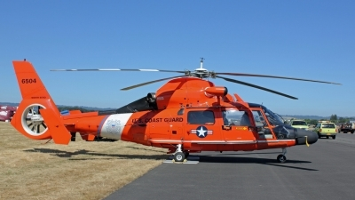 Photo ID 106276 by Alex Jossi. USA Coast Guard Aerospatiale MH 65D Dolphin SA 366G 1, 6504