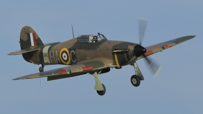 Photo ID 106669 by rinze de vries. Private Historic Aircraft Collection Hawker Hurricane XII, G HURI