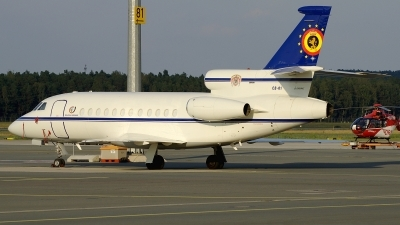 Photo ID 106386 by Günther Feniuk. Belgium Air Force Dassault Falcon 900B, CD 01