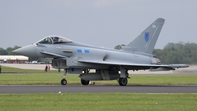 Photo ID 106564 by Niels Roman / VORTEX-images. UK Air Force Eurofighter EF 2000 Typhoon FGR4, ZK333