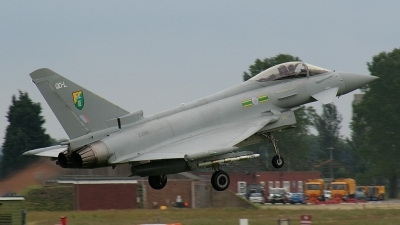 Photo ID 13715 by Paul Newbold. UK Air Force Eurofighter EF 2000 Typhoon F2, ZJ918