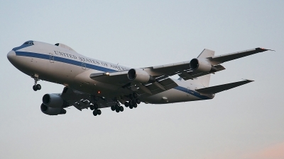 Photo ID 106978 by Weiqiang. USA Air Force Boeing E 4B 747 200B, 73 1677