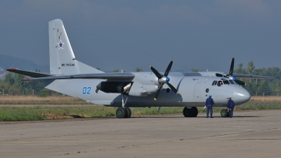 Photo ID 107292 by Peter Terlouw. Russia Air Force Antonov An 26, 02 BLUE