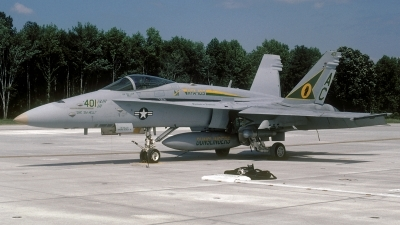 Photo ID 106516 by David F. Brown. USA Navy McDonnell Douglas F A 18C Hornet, 164261
