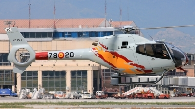 Photo ID 106876 by Jesus Benitez. Spain Air Force Eurocopter EC 120B Colibri, HE 25 1