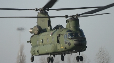 Photo ID 13826 by Jaco Haasnoot. Netherlands Air Force Boeing Vertol CH 47D Chinook, D 666