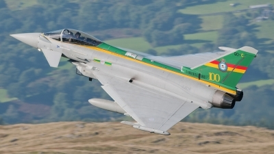 Photo ID 107399 by Paul Massey. UK Air Force Eurofighter EF 2000 Typhoon FGR4, ZJ936