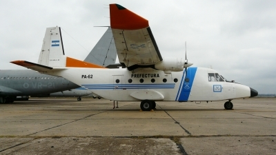 Photo ID 107833 by Martin Kubo. Argentina Coast Guard CASA C 212 300 Aviocar, PA 62