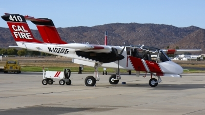 Photo ID 107468 by Nathan Havercroft. Private California Department of Forestry North American Rockwell OV 10A Bronco, N400DF