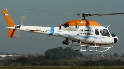 Photo ID 107730 by Martin Kubo. Argentina Coast Guard Aerospatiale AS 355NP Ecureuil 2, PA 80