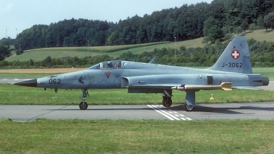 Photo ID 107607 by Rainer Mueller. Switzerland Air Force Northrop F 5E Tiger II, J 3062