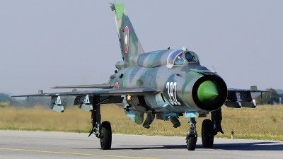 Photo ID 107660 by Lukas Kinneswenger. Bulgaria Air Force Mikoyan Gurevich MiG 21bis, 392