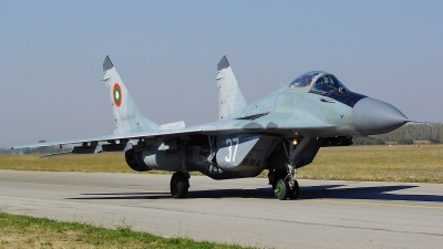Photo ID 107708 by Lukas Kinneswenger. Bulgaria Air Force Mikoyan Gurevich MiG 29 9 12, 37