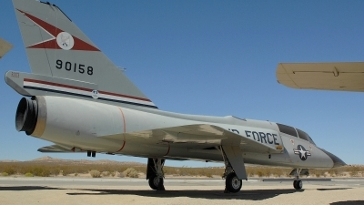 Photo ID 109581 by Peter Boschert. USA Air Force Convair QF 106B Delta Dart, 59 0158