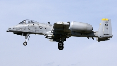 Photo ID 108020 by rob martaré. USA Air Force Fairchild A 10C Thunderbolt II, 81 0991