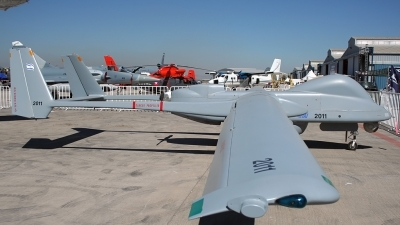 Photo ID 108111 by Carlos Ay. Company Owned Israel Aerospace Industries Israel IAI Heron I Shoval UAV, 2011